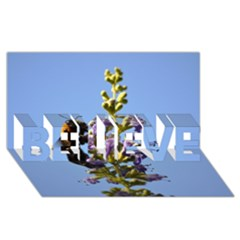 Bumble Bee 1 Believe 3d Greeting Card (8x4)