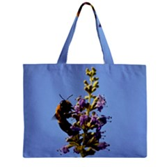 Bumble Bee 1 Zipper Tiny Tote Bags