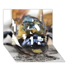 Bumble Bee 2 Love 3d Greeting Card (7x5)