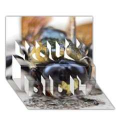 Bumble Bee 2 You Did It 3D Greeting Card (7x5)