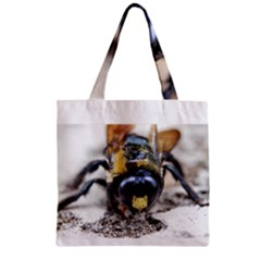 Bumble Bee 2 Zipper Grocery Tote Bags