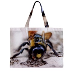 Bumble Bee 2 Zipper Tiny Tote Bags
