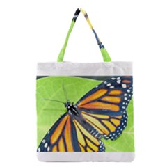 Butterfly 2 Grocery Tote Bags