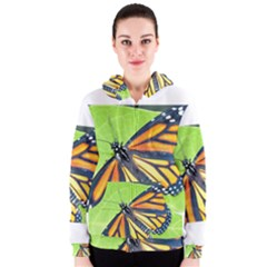 Butterfly 2 Women s Zipper Hoodies