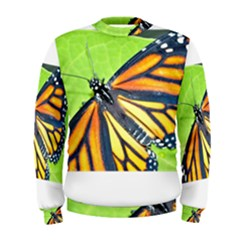 Butterfly 2 Men s Sweatshirts
