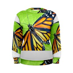 Butterfly 2 Women s Sweatshirts