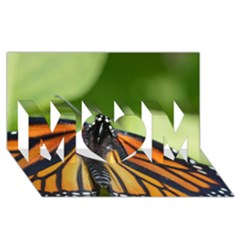 Butterfly 3 Mom 3d Greeting Card (8x4)
