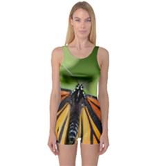 Butterfly 3 Women s Boyleg One Piece Swimsuits