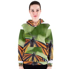 Butterfly 3 Women s Zipper Hoodies