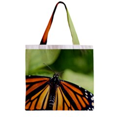 Butterfly 3 Zipper Grocery Tote Bags