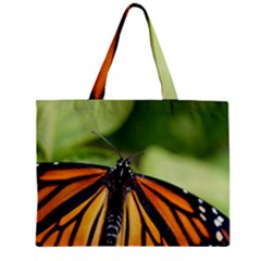 Butterfly 3 Zipper Tiny Tote Bags