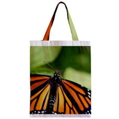 Butterfly 3 Zipper Classic Tote Bags