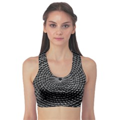 SPinning out of control Sports Bra