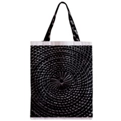 SPinning out of control Zipper Classic Tote Bags