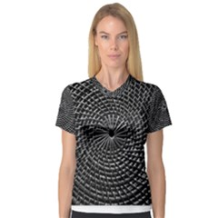 SPinning out of control Women s V-Neck Sport Mesh Tee