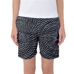 SPinning out of control Women s Basketball Shorts
