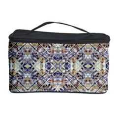 Oriental Geometric Floral Print Cosmetic Storage Cases