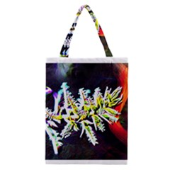 Digitally Enhanced Flower Classic Tote Bags