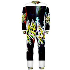 Digitally Enhanced Flower OnePiece Jumpsuit (Men)