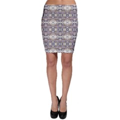 Oriental Geometric Floral Bodycon Skirts