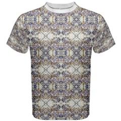 Oriental Geometric Floral Men s Cotton Tees