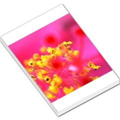 Bright Pink Hibiscus Large Memo Pads
