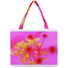 Bright Pink Hibiscus 2 Tiny Tote Bags