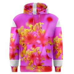 Bright Pink Hibiscus 2 Men s Pullover Hoodies