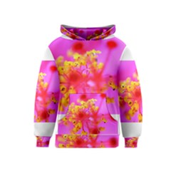 Bright Pink Hibiscus 2 Kid s Pullover Hoodies