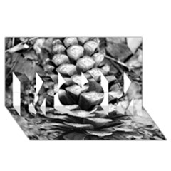 Pinecone Spiral Mom 3d Greeting Card (8x4)