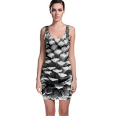 Pinecone Spiral Bodycon Dresses