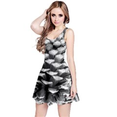 Pinecone Spiral Reversible Sleeveless Dresses