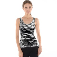 Pinecone Spiral Tank Tops
