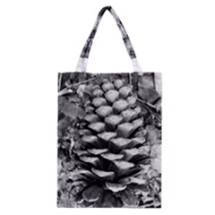 Pinecone Spiral Classic Tote Bags