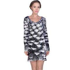 Pinecone Spiral Long Sleeve Nightdresses