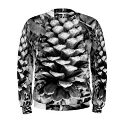 Pinecone Spiral Men s Sweatshirts