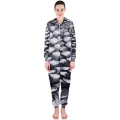 Pinecone Spiral Hooded Jumpsuit (Ladies)