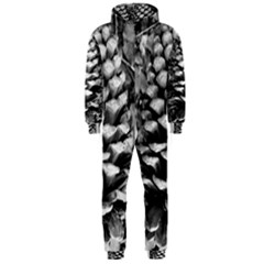 Pinecone Spiral Hooded Jumpsuit (Men)
