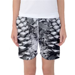 Pinecone Spiral Women s Basketball Shorts