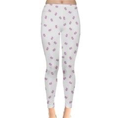 Officially Sexy OS Collection Pink & White Winter Leggings