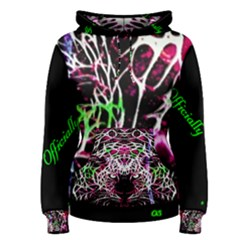 Officially Sexy Panther Collection Pink Women s Pullover Hoodie