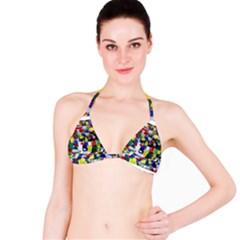 Tibetan Buddhist Prayer Flags Bikini Tops