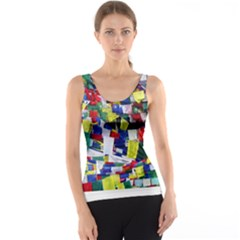 Tibetan Buddhist Prayer Flags Tank Tops
