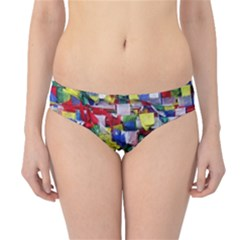 Tibetan Buddhist Prayer Flags Hipster Bikini Bottoms