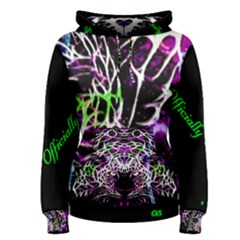 Officially Sexy Panther Collection Purple Women s Pullover Hoodie
