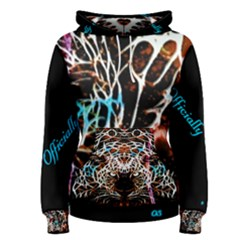 Officially Sexy Panther Collection Red Women s Pullover Hoodie