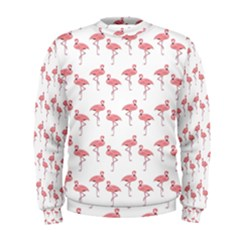 Pink Flamingo Pattern Men s Sweatshirts