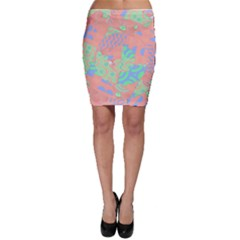 Tropical Summer Fruit Salad Bodycon Skirt
