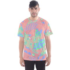 Tropical Summer Fruit Salad Men s Sport Mesh Tee