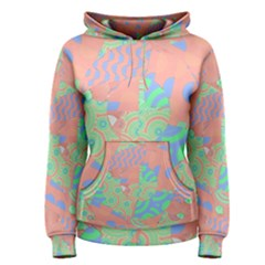 Tropical Summer Fruit Salad Women s Pullover Hoodie